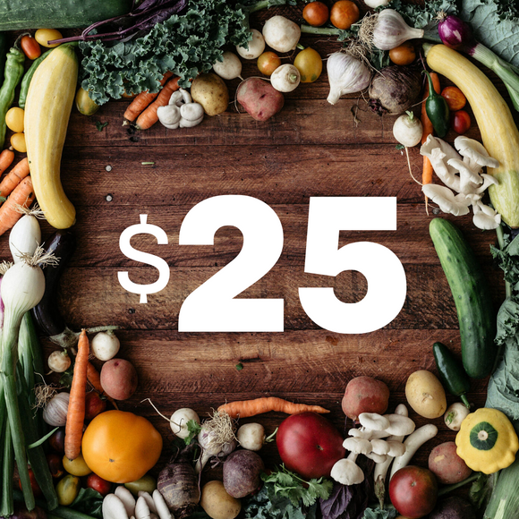 $25 Donation to the Random Harvest Food Access Fund
