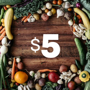 $5 Donation to the Random Harvest Food Access Fund