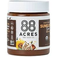 88 Acres, Butter Chocolate Sunflower Seed Regionanl, 14 oz