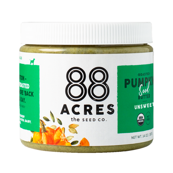 88 Acres, Pumpkin Seed Butter Sugar Free Organic Regional, 14 oz