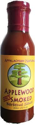Appalachian Naturals, BBQ Sauce Applewood Smoked Spicy Regional, 12 oz