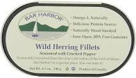 Bar Harbor, Herring Wild Fillets with Cracked Pepper, 6.7 oz