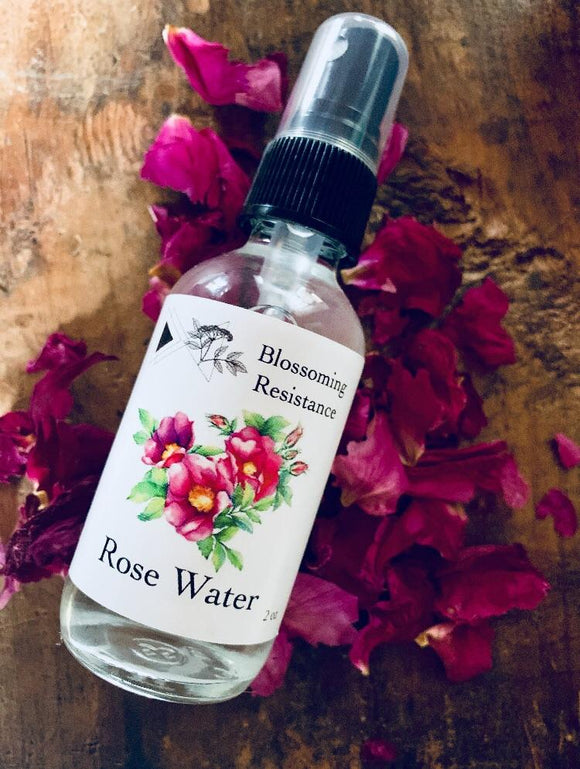Blossoming Resistance, Rose Water Cheshire MA, 2 oz