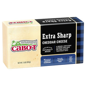 Cabot, Cheese Cheddar Extra Sharp Regional, 2 lb