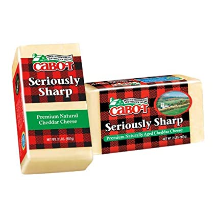 Cabot, Cheese Cheddar Seriously Sharp Regional, 2 lb