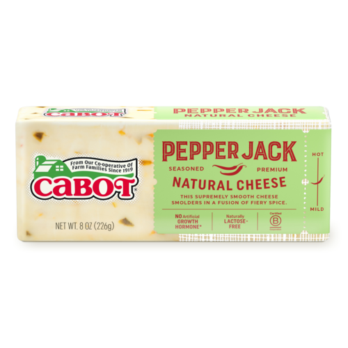 Cabot, Cheese Pepper Jack Regional, 8 oz