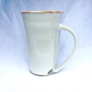 Daniel Bellow Pottery, Mug Solid 6 inch Great Barrington MA, 1 unit