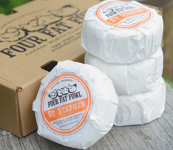 Four Fat Foul, Cheese St Stephan, 7 oz