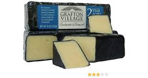 Grafton, Cheddar 2 Year Aged Wax Bar, 8 oz