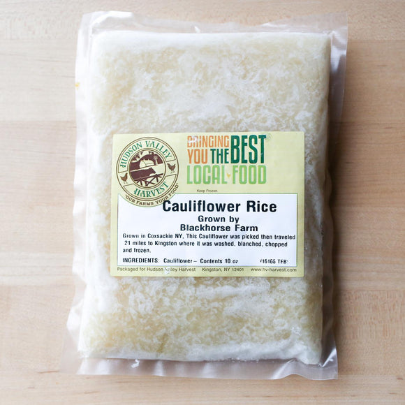 Hudson Harvest, Cauliflower Rice Frozen, 10 oz