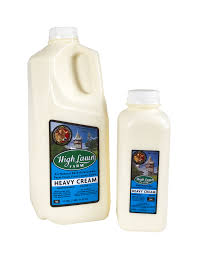 High Lawn, Heavy Cream Regional, pint