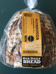 Our Daily Bread, Sourdough Sliced Chatham NY, 20 oz