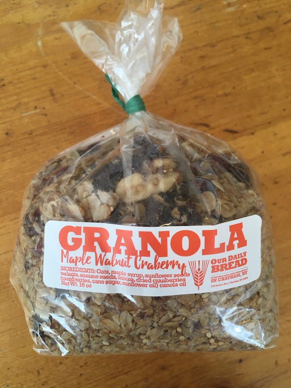 Our Daily Bread, Granola Chatham NY, 16oz bag
