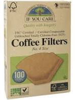 If You Care, Coffee Filters No. 4, 100 filters