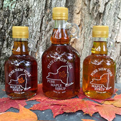 Maple Leaf Sugaring, Syrup Maple Ghent NY, 8.5 oz