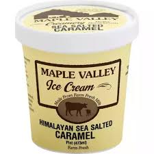 Maple Valley, Ice Cream  Salted Caramel Regional, pint