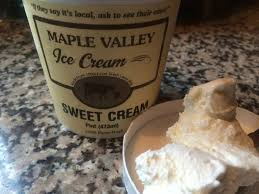 Maple Valley, Ice Cream Sweet Cream Regional, pint