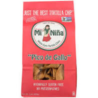 Mi Nina, Chip Pico de Gallo Tortilla Regional, 12 oz