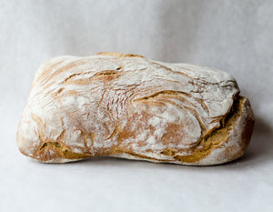 Our Daily Bread, Ciabatta Olive Oil Sea Salt Chatham NY, 580 grams