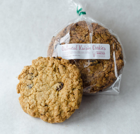 Our Daily Bread, Cookies Oatmeal Raisin Chatham NY, 8 oz