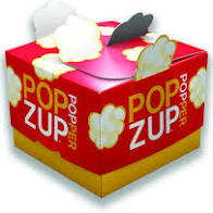 Popzup, Popcorn Microwaveable 12 pack, 2 lb