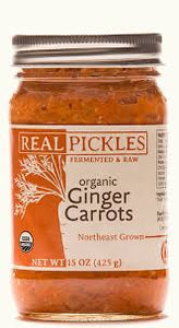 Real Pickles, Ginger Carrots Regional, 15 oz