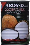 Aroy-D, Coconut Milk Unsweetened, 14 oz