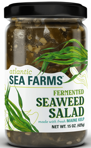 Atlantic Sea, Sauerkraut Fermented Seaweed Salad Regional, 15 oz
