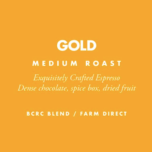 Barrington Coffee, Gold Whole Bean Local, 12 oz
