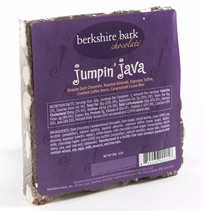 Berkshire Bark, Chocolate Jumpin' Java Local, 4.5 oz