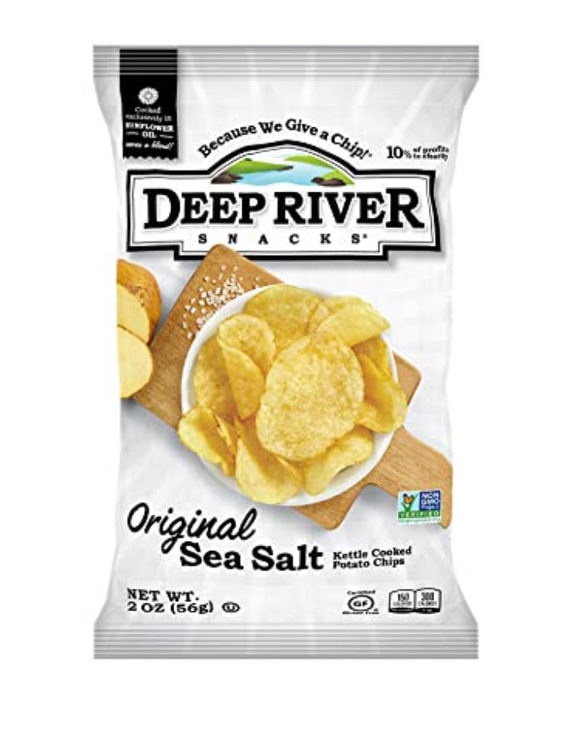 Deep River, Potato Chip Original Regional, 2 oz