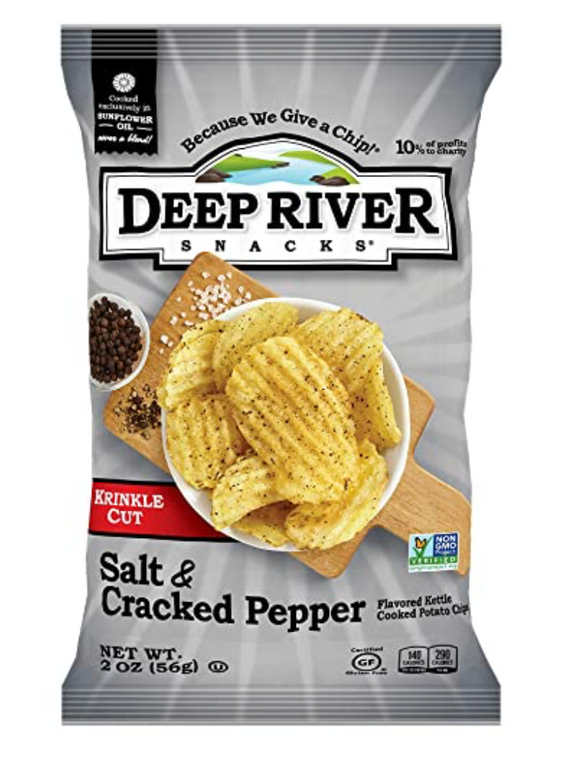 Deep River, Potato Chip Salt and Cracked Pepper Regional, 5 oz