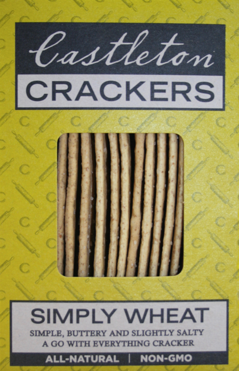 Castleton Cracker, Cracker Simply Wheat Regional, 5 oz