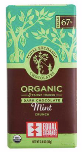 Equal Exchange, Chocolate Mint Organic Regional, 2.8 oz