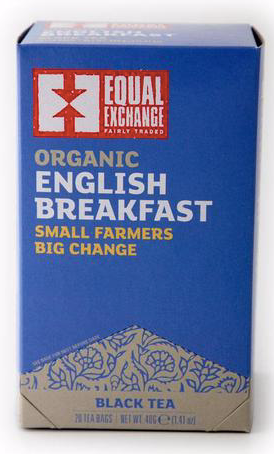 Equal Exchange, Tea English Breakfast Regional, 1.4 oz