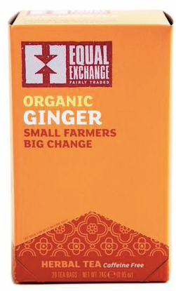 Equal Exchange, Tea Ginger Bags Organic Regional, 1.4 oz