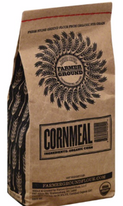 Farmer Ground, Cornmeal Organic Regional, 2 lb