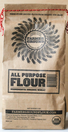 Farmer Ground, Flour All Purpose Organic Regional, 2 lb