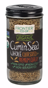 Frontier, Spice Cumin Seed Whole Organic, 1.68