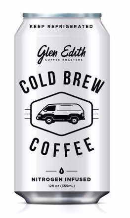 Glen Edith, Coffee Cold Brew Nitro Regional, 12 oz