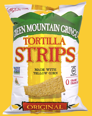 Green Mountain Gringo, Original Tortilla Chips Regional, 8 oz