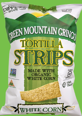 Green Mountain Gringo, White Corn Tortilla Chips Regional, 8 oz