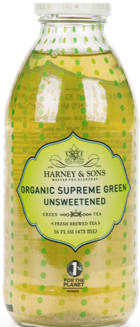 Harney & Sons, Tea Organic Supreme Green Unsweetened Organic Local, 16 oz