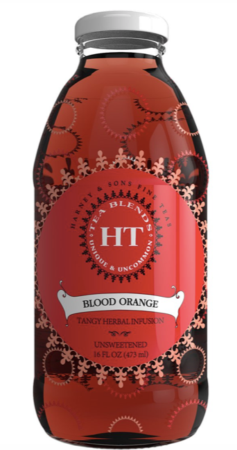 Harney and Sons, Infusion Blood Orange Bottled Local, 16 oz