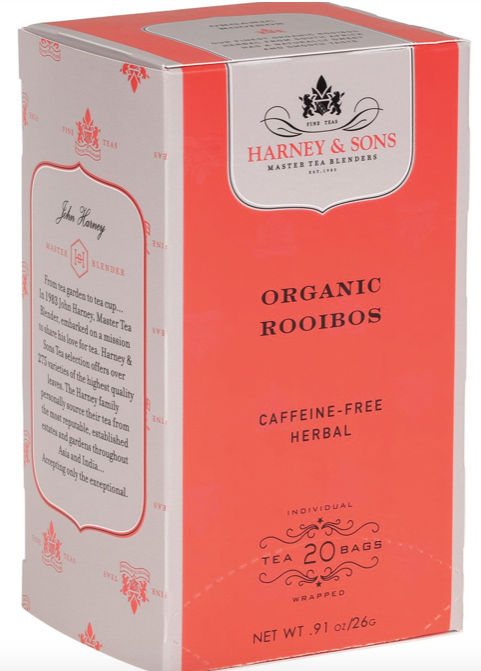 Harney and Sons, Tea Rooibos Organic Local, 20 bags
