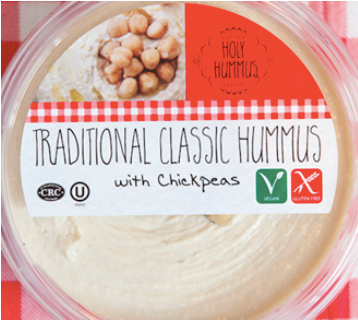 Holy Hummus, Hummus Traditional Regional, 10 oz