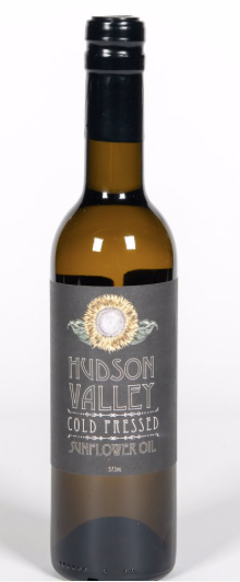 Hudson Valley Cold Pressed, Oil Sunflower Regional, 375 ml