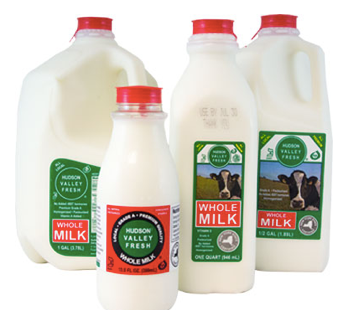 Hudson Valley Fresh, Milk Whole Regional, Quart