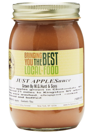 Hudson Valley Harvest, Apple Sauce Regional, 16 oz