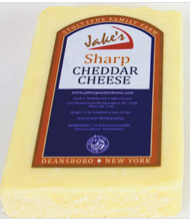 Jake's, Cheese Cheddar Sharp Local, 0.5 lb brick